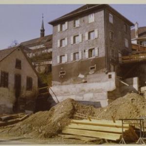 Bregenz, Hausbau in der Thalbachstraße / Fotograf: Norbert Bertolini von Bertolini, Norbert