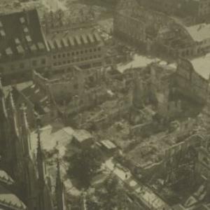 Ulm nach der Bombardierung 1944 / Fotograf: Norbert Bertolini von Bertolini, Norbert