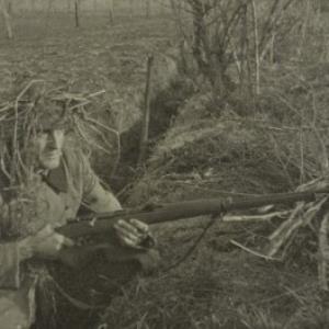 Norbert Bertolini als Soldat / Fotograf: Norbert Bertolini von Bertolini, Norbert