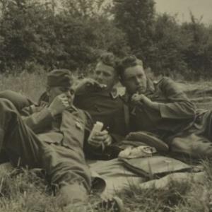 Zweiter Weltkrieg, Soldaten / Fotograf: Norbert Bertolini von Bertolini, Norbert