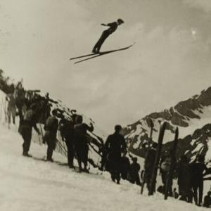 Skispringen / Fotograf: Norbert Bertolini von Bertolini, Norbert