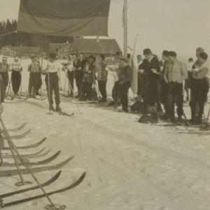 Österreichische Meisterschaft 1926, Sepp Oswald / Fotograf: Norbert Bertolini von Bertolini, Norbert