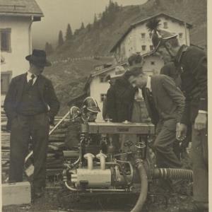 Feuerwehrübung in Stuben am Arlberg / Fotograf: Norbert Bertolini von Bertolini, Norbert