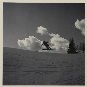 Skilauf am Bödele, Werner Schlegel und Norbert Bertolini / Fotograf: Norbert Bertolini von Bertolini, Norbert