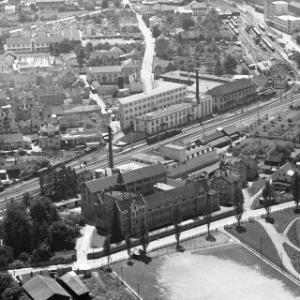 Bregenz, Vorkloster, Firma Benger, Fa. Maggi von Alpine Luftbild GmbH