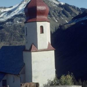 Kirche Damüls / Helmut Tiefenthaler von Tiefenthaler, Helmut
