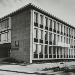 Lustenauer Rathaus von Branz