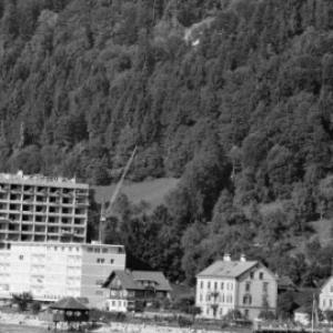 Pipeline in Bregenz, Melanie-Hochhaus in Bau / Oskar Spang von Spang, Oskar