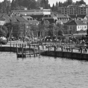 Hafen in Bregenz / Oskar Spang von Spang, Oskar