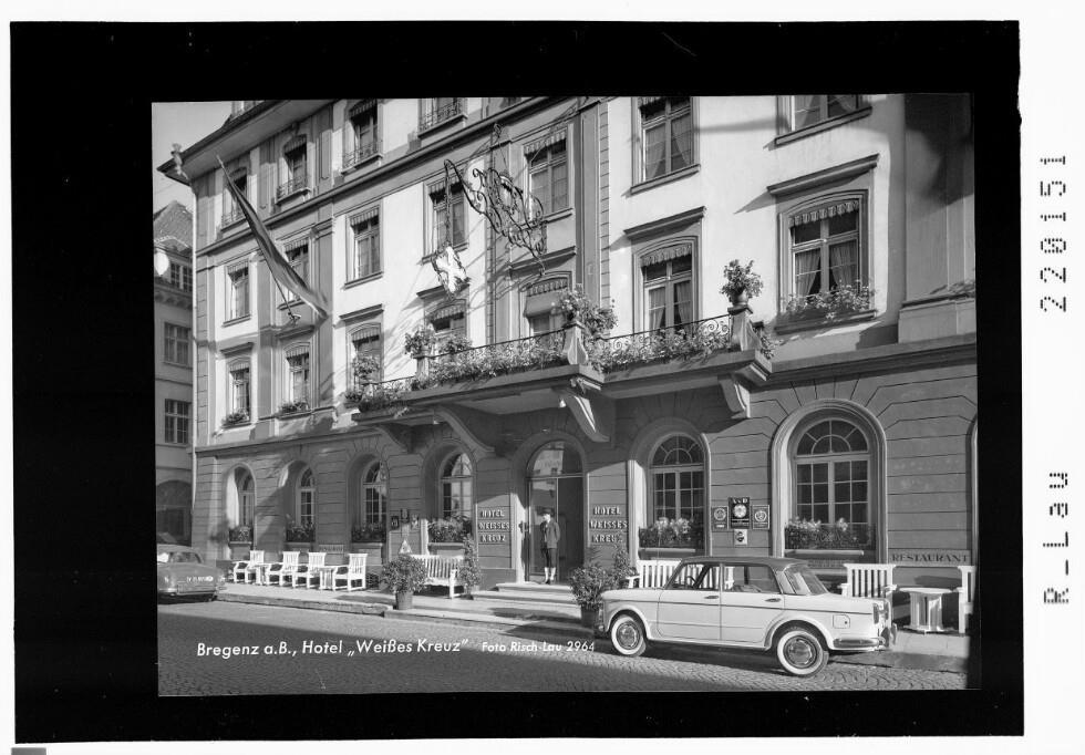 Hotel WeiГџes Kreuz Bregenz
