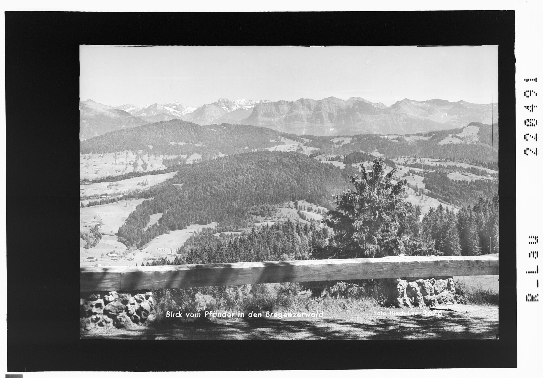 Blick vom Pfänder in den Bregenzerwald / Vorarlberg von Risch-Lau