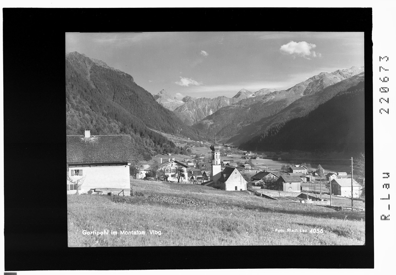 Gortipohl im Montafon / Vorarlberg von Risch-Lau