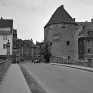 Hirschgraben und Wasserturm in Feldkirch / Oskar Spang von Spang, Oskar