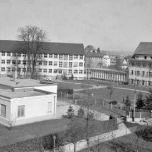 Städtisches Krankenhaus in Bregenz / Oskar Spang von Spang, Oskar