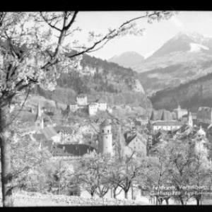 Feldkirch / Vorarlberg / gegen Gurtisspitze von Risch-Lau