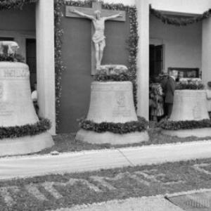Glockenweihe in St. Gebhard in Bregenz / Oskar Spang von Spang, Oskar