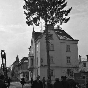 Bau der Römerstraße in Bregenz / Oskar Spang von Spang, Oskar