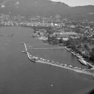 Segelhafen in Bregenz / Oskar Spang von Spang, Oskar