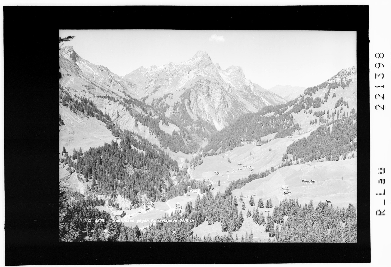 Schröcken gegen Künzelspitze 2415 m