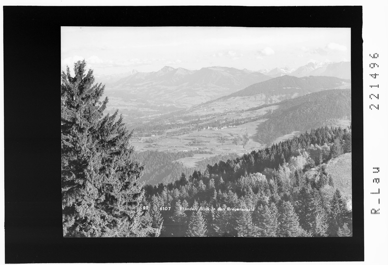 Pfänder / Blick in den Bregenzerwald von Rhomberg
