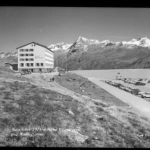 Bielerhöhe 2071 m / Hotel Silvrettasee Rosstalferner von Risch-Lau