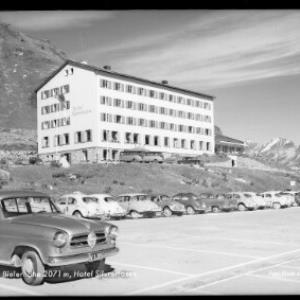 Bielerhöhe 2071 m / Hotel Silvrettasee von Risch-Lau