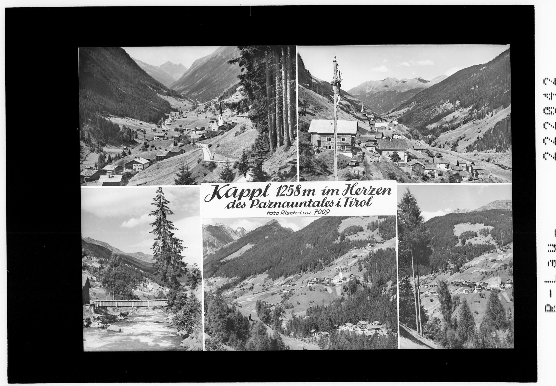 Kappl 1258 m im Herzen des Paznauntales in Tirol von Risch-Lau