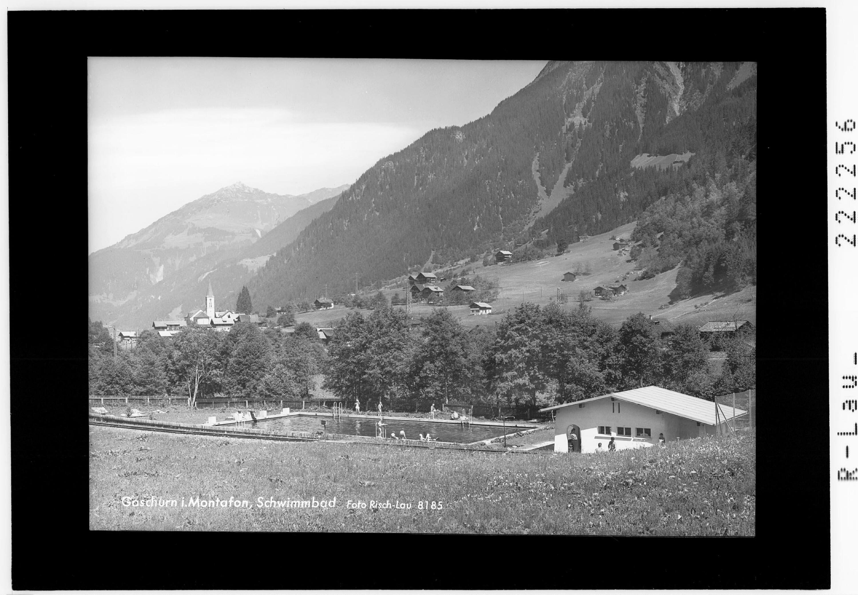 Gaschurn im Montafon / Schwimmbad von Risch-Lau