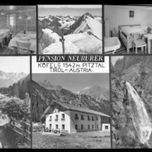 Pension Neururer / Köfels 1542 m / Pitztal Tirol - Austria von Risch-Lau