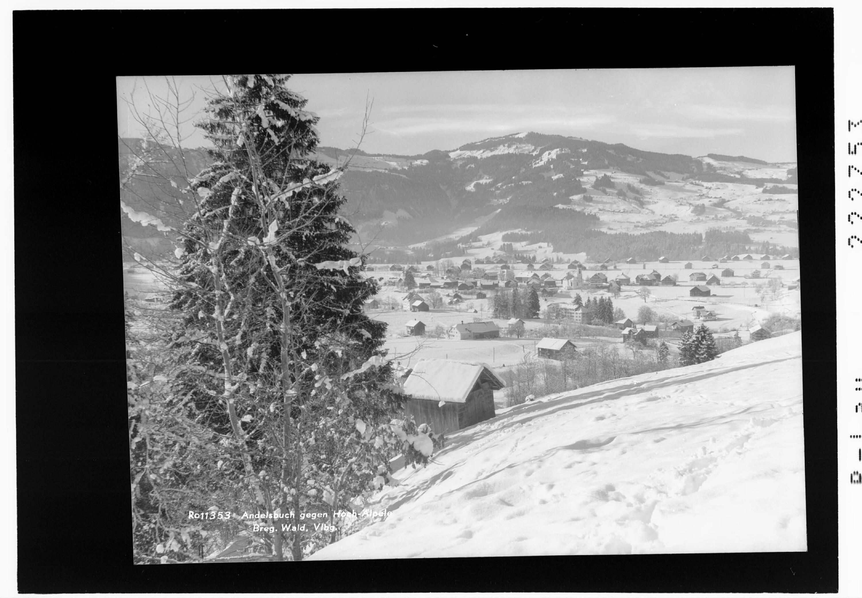 Andelsbuch gegen Hoch Älpele / Bregenzerwald / Vorarlberg von Rhomberg
