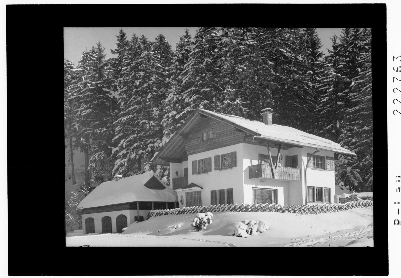 Villa Kinz auf dem Pfänder von Rhomberg