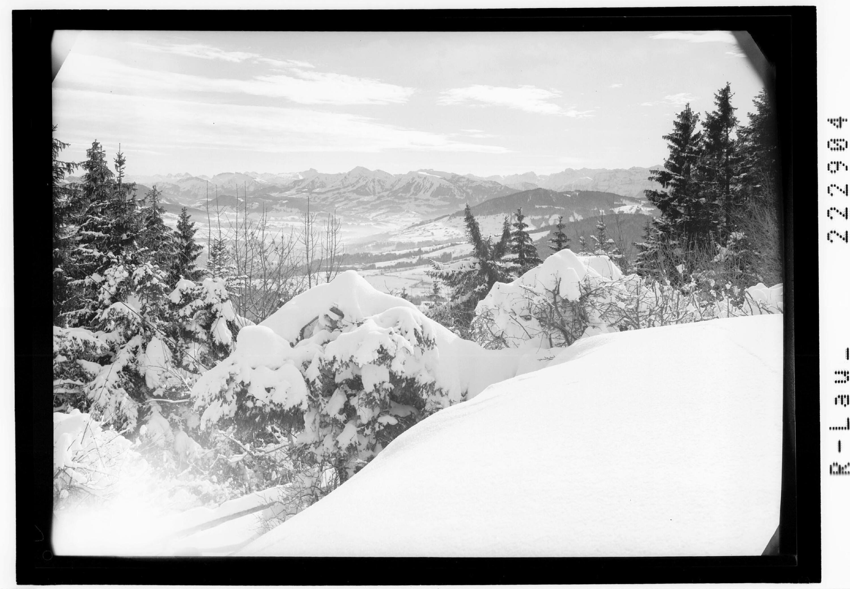 Blick vom Pfänder in den Bregenzerwald von Risch-Lau