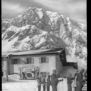 St.Anton am Arlberg / Schindlerbahn - Bergstation mit Kapall Stube von Risch-Lau
