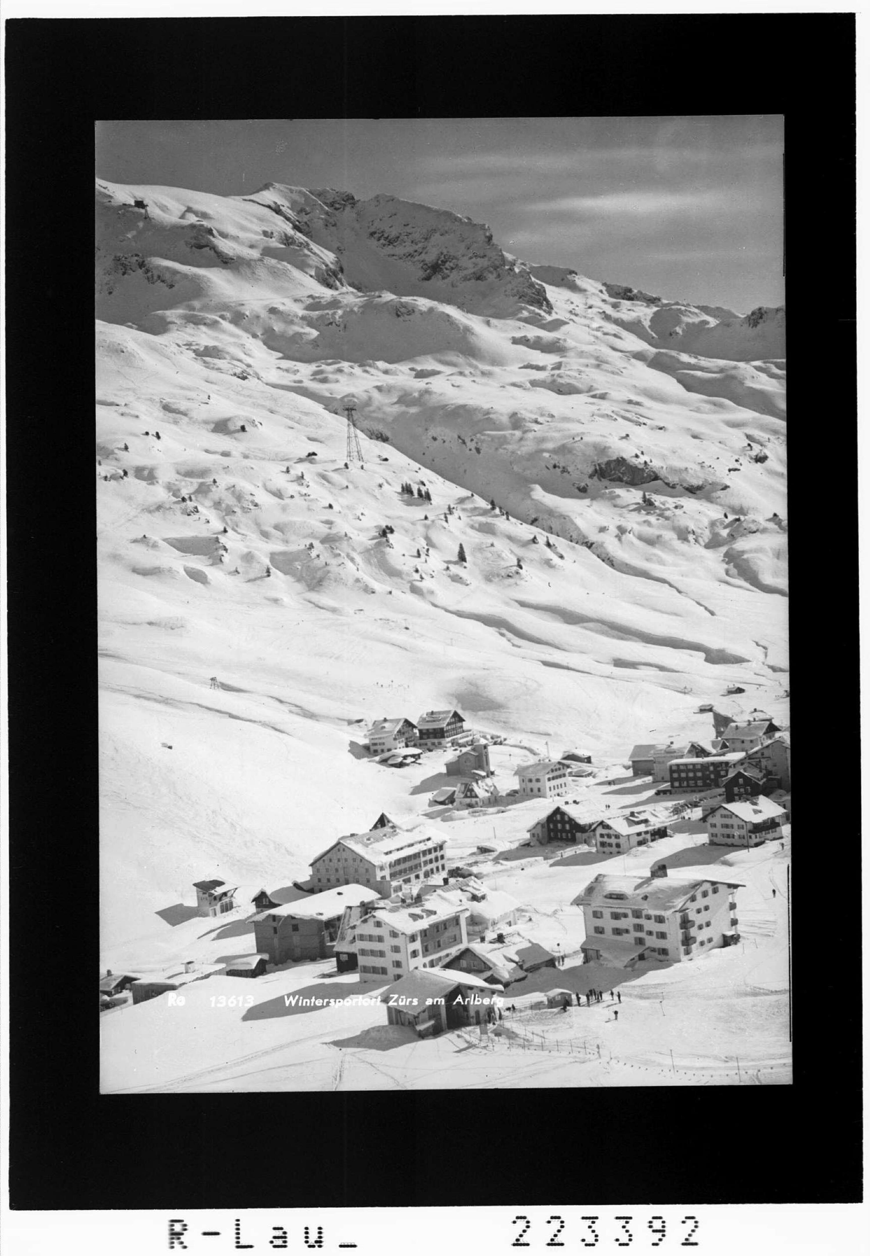 Wintersportplatz Zürs am Arlberg von Rhomberg