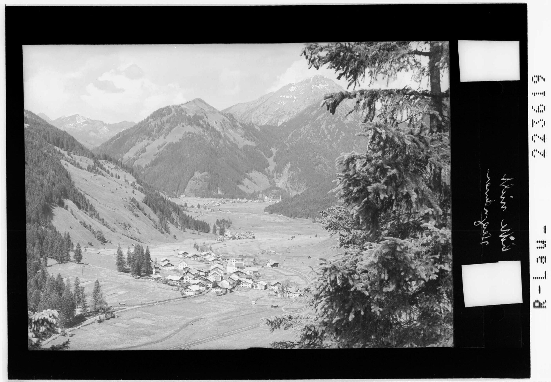 Lähn gegen Bichlbach mit Thaneller / Tirol von Risch-Lau