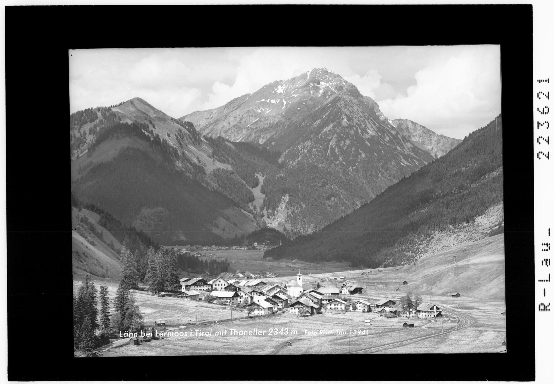 Lähn bei Lermoos in Tirol mit Thaneller 2343 m von Risch-Lau