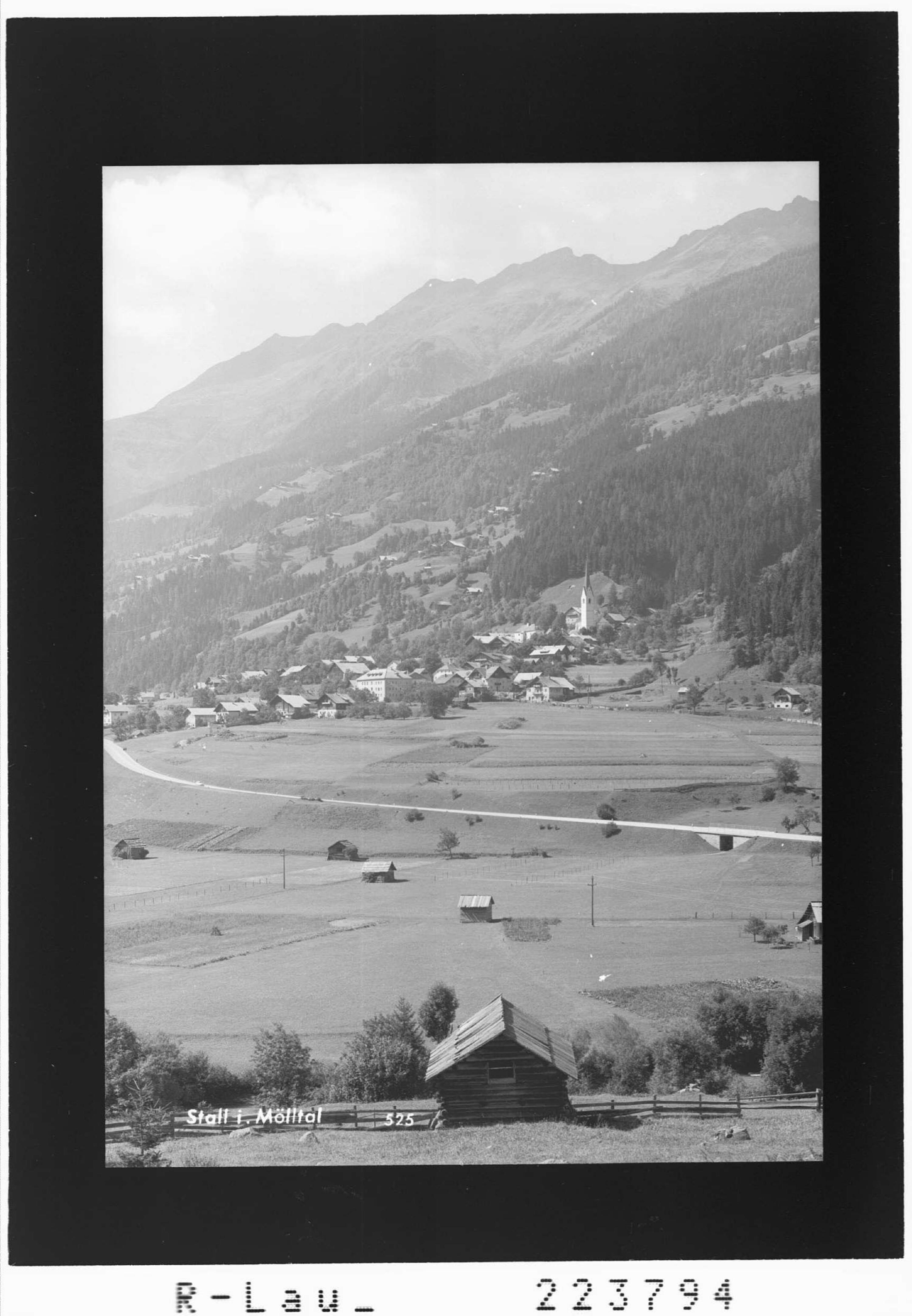 Stall im Mölltal von Gamberger