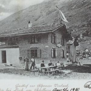 Gruss aus Zürs bei Lech am Adelberg von Vonbank, E.