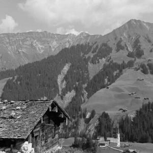 Schröcken, Stall der Alpe Felle / Franz Beer von Beer, Franz
