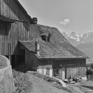 Vorarlberg, Bauernhaus / Franz Beer von Beer, Franz