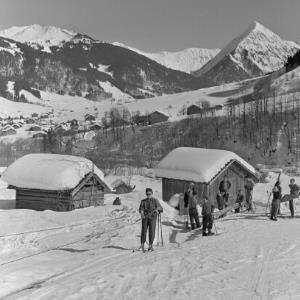 Au, Skilift / Franz Beer von Beer, Franz