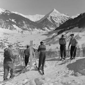 Au, Skilauf / Franz Beer von Beer, Franz