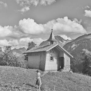 Au, Berggut Berngat, Kapelle / Franz Beer von Beer, Franz