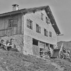 Schoppernau , Alpe / Franz Beer von Beer, Franz