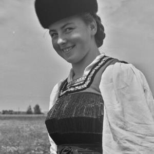 Bezau, Parzelle Mittlere, Bregenzerwälder Tracht, Frauentracht / Franz Beer von Beer, Franz