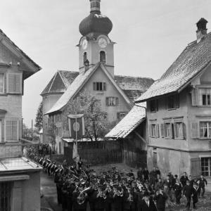 Dornbirn - Oberdorf, Kirche St. Sebastian, Glockenweihe / Franz Beer von Beer, Franz