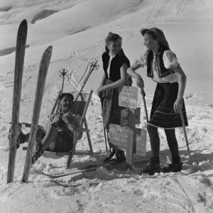 Dornbirn, Skilauf / Franz Beer von Beer, Franz