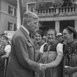 Kurt Schuschnigg / Franz Beer von Beer, Franz