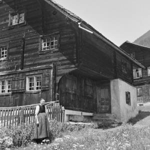 St. Gallenkirch - Gortipohl, Bauernhaus / Franz Beer von Beer, Franz