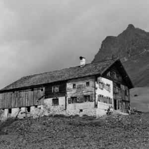 Warth - Hochkrumbach, Bauernhaus (Walserhaus) / Franz Beer von Beer, Franz